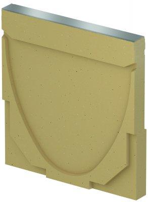 ACO DRAIN Multiline V 100 Ścianka czołowa pełna Typ 0. - 20. Krawędzie ze stali ocynkowanej ACO P12385