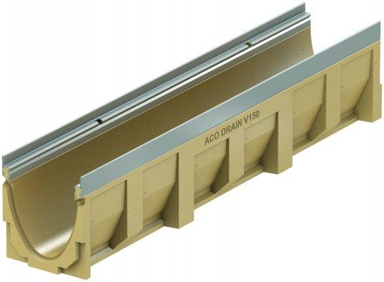 ACO DRAIN Multiline V 150 Korytko z polimerbetonu V 150 20.0 Krawędzie ze stali ocynkowanej ACO P12770