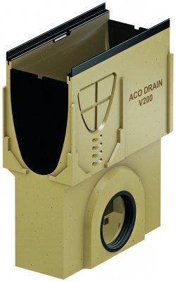 ACO DRAIN Multiline V 200 Skrzynka odpływowa O 160 Krawędzie z żeliwa ACO P13391