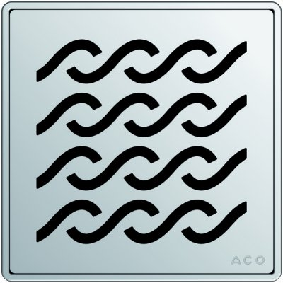 ACO Easyflow E, ruszt kwadrat HAWAII ACO P5141.20.29