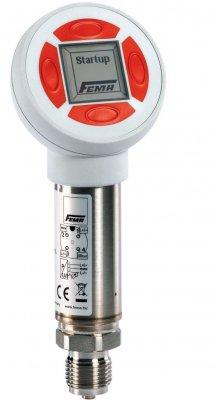 Przetwornik ciśnienia bez wyświetlacza, zakres 0-10 bar, maks. ciśn. 30 bary, wyjście 0-10 V, 3 przewodowy