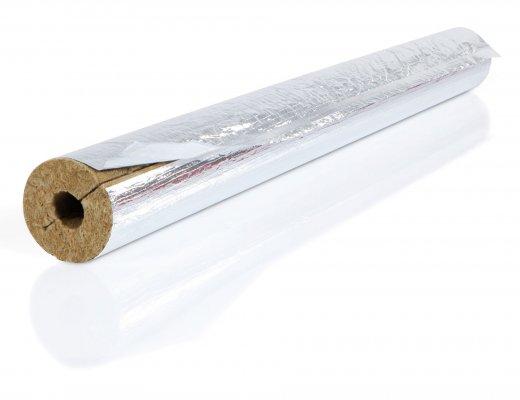 Otulina z wełny mineralnej SteinWool pokryta folią ALU d-22mm, grubość - 30mm Armacell MFSR-30X022