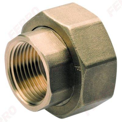 Śrubunek Do Pompy 6/4''X1'' Mos Zółty 1Kpl (2Szt.) Ferro SG18