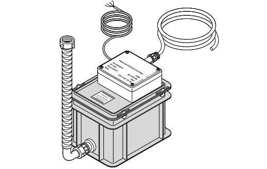 Stacja neutralizacji kondensatu DU 14 - dla kotła o mocy od 120 do 350 kW De Dietrich 83877010
