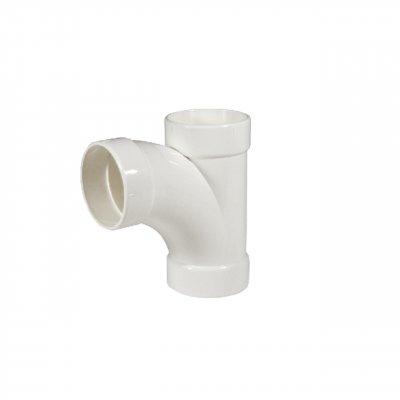 Trójnik PVC kw/kw/kw 2