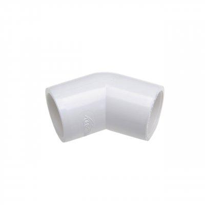 Kolano PVC 45st. 1