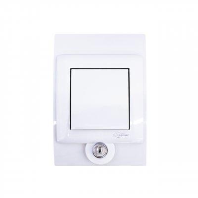 Gniazdo ssące SYLO PLUS białe na kluczyk UST-M 476901
