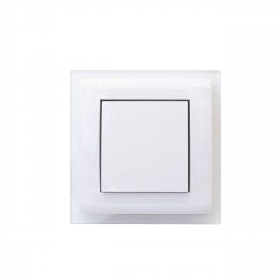 Gniazdo ssące ASKO PLUS z ramką białe UST-M 476701